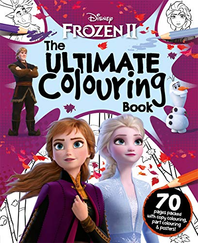 Disney Frozen 2 The Ultimate Colouring Book By Igloo Books
