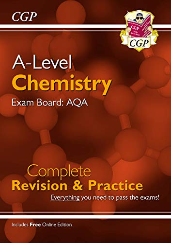 New A-Level Chemistry: AQA Year 1 & 2 Complete Revision & Practice with Online Edition By CGP Books