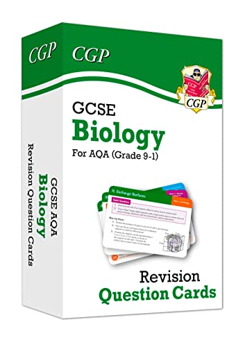 9-1 GCSE Biology AQA Revision Question Cards By CGP Books