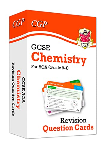 New 9-1 GCSE Chemistry AQA Revision Question Cards By CGP Books