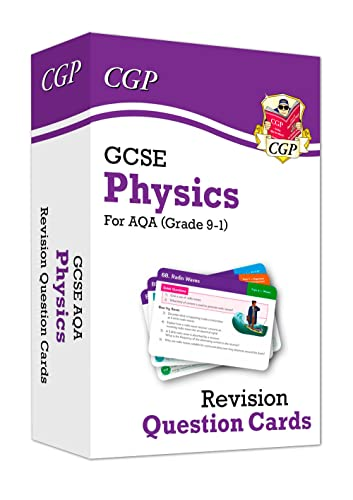 New 9-1 GCSE Physics AQA Revision Question Cards By CGP Books