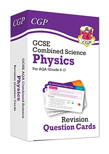 New 9-1 GCSE Combined Science: Physics AQA Revision Question Cards By CGP Books