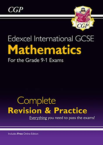 Edexcel International GCSE Maths Complete Revision & Practice - Grade 9-1 (with Online Edition) By CGP Books