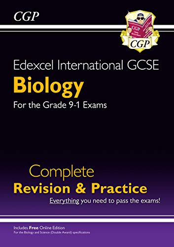 Grade 9-1 Edexcel International GCSE Biology: Complete Revision & Practice with Online Edition By CGP Books