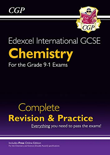 Grade 9-1 Edexcel International GCSE Chemistry: Complete Revision & Practice with Online Edition By CGP Books