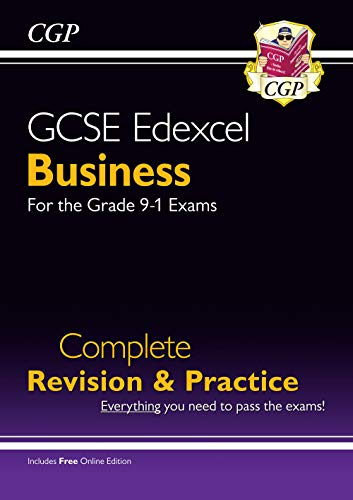 New GCSE Business Edexcel Complete Revision and Practice - Grade 9-1 Course (with Online Edition) By CGP Books