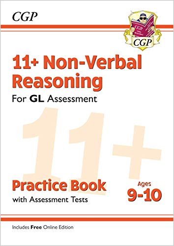 11+ GL Non-Verbal Reasoning Practice Book & Assessment Tests - Ages 9-10 (with Online Edition) By CGP Books