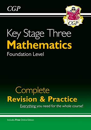 KS3 Maths Complete Revision & Practice - Foundation (with Online Edition) von CGP Books