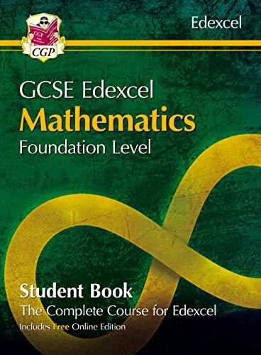 Grade 9-1 GCSE Maths Edexcel Student Book - Foundation (with Online Edition) von CGP Books