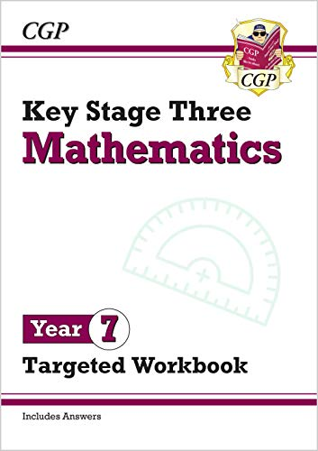 New KS3 Maths Year 7 Targeted Workbook (with answers) By CGP Books
