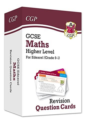 Grade 9-1 GCSE Maths Edexcel Revision Question Cards - Higher von CGP Books