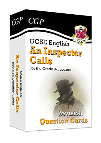 New Grade 9-1 GCSE English - An Inspector Calls Revision Question Cards By CGP Books