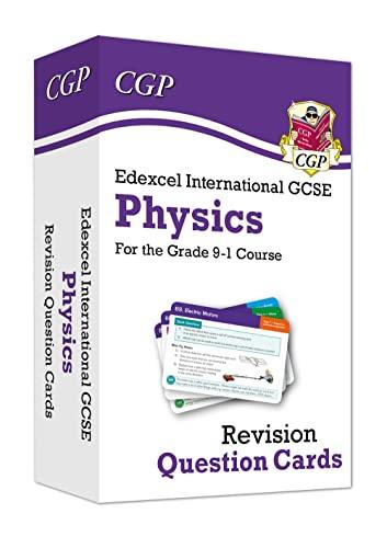 New Grade 9-1 Edexcel International GCSE Physics: Revision Question Cards von CGP Books