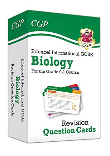 New Grade 9-1 Edexcel International GCSE Biology: Revision Question Cards von CGP Books