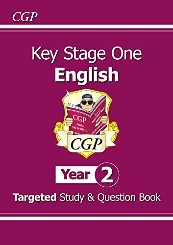 New KS1 English Targeted Study & Question Book - Year 2 By CGP Books
