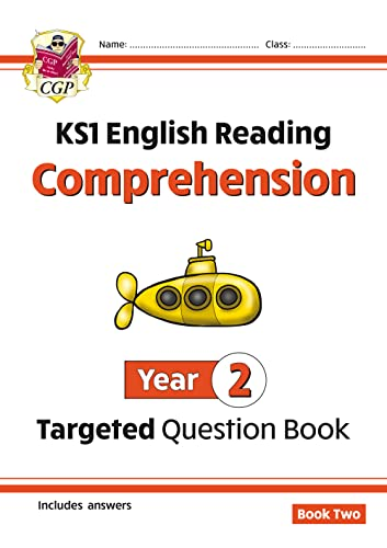 New KS1 English Targeted Question Book: Year 2 Comprehension - Book 2 By CGP Books