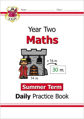 New KS1 Maths Daily Practice Book: Year 2 - Summer Term By CGP Books