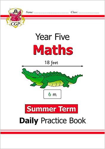 New KS2 Maths Daily Practice Book: Year 5 - Summer Term von CGP Books