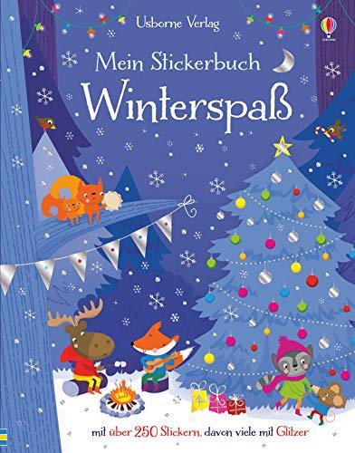 Mein Stickerbuch: Winterspaß By Fiona Watt