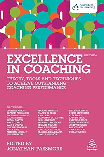 Excellence in Coaching By Jonathan Passmore