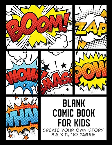 Blank Comic Book for Kids By The Whodunit Creative Design