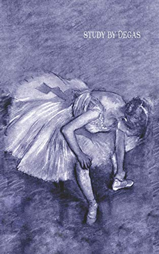 Study by Degas By Edgar Degas