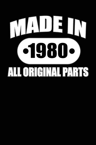 Made in 1980 All Original Parts By North Coast Books