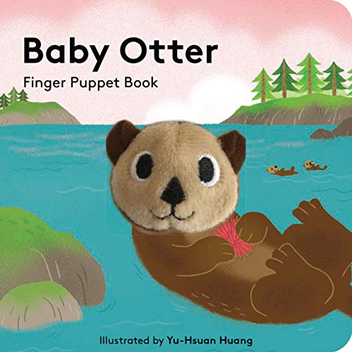Baby Otter: Finger Puppet Book By Yu-Hsuan Huang