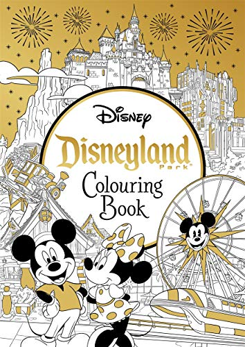 Disneyland Parks Colouring Book By Igloo Books