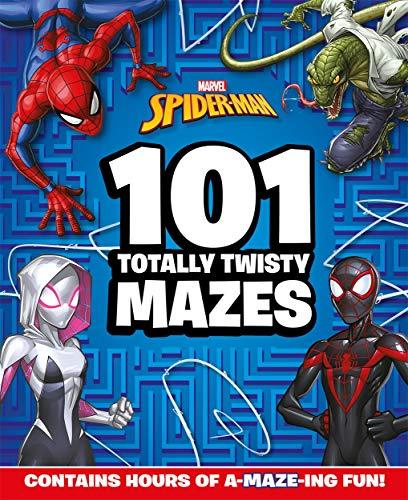Marvel Spider-Man: 101 Totally Twisty Mazes By Igloo Books