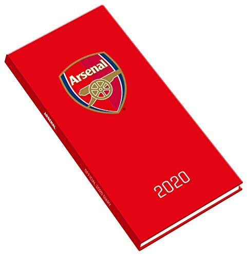 Arsenal FC 2020 Slim Diary - Official Slim Diary By Arsenal
