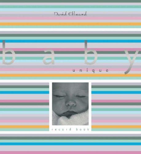 Baby Unique Record Book By Sue McMillan