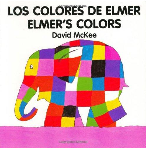 Elmer's Colours (spanish-english) By David McKee