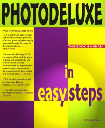 PhotoDeluxe in Easy Steps by Nick Vandome