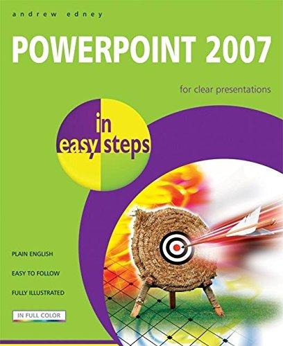 PowerPoint 2007 In Easy Steps By A. T. B. Edney