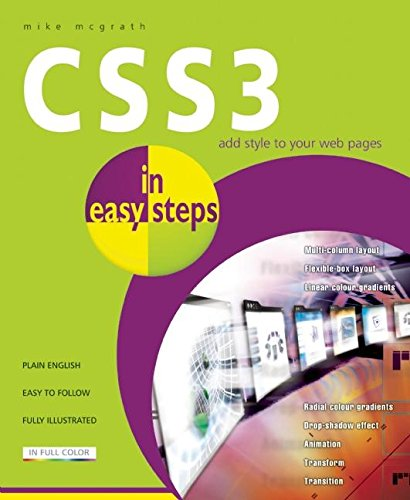 CSS3 in Easy Steps by Mike McGrath