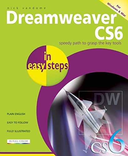 Dreamweaver CS6 In Easy Steps By Nick Vandome