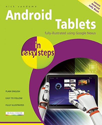 Android Tablets in Easy Steps by Nick Vandome