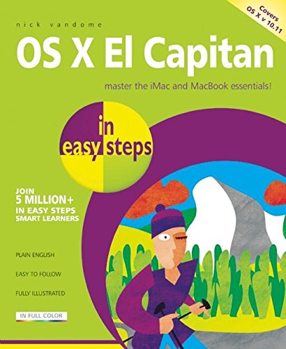 OS X El Capitan in easy steps - covers OS X 10.11 By Nick Vandome