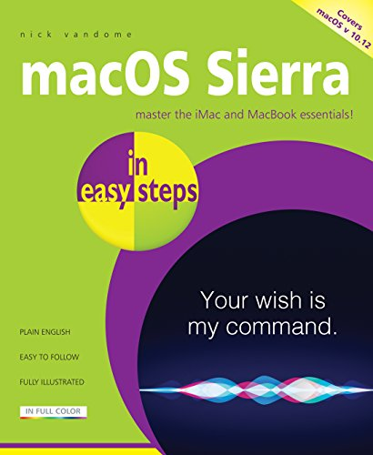 macOS Sierra in easy steps By Nick Vandome