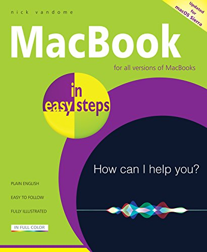 MacBook in easy steps By Nick Vandome