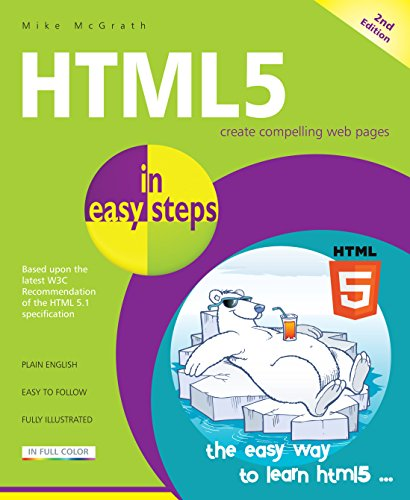 HTML5 in easy steps By Mike McGrath