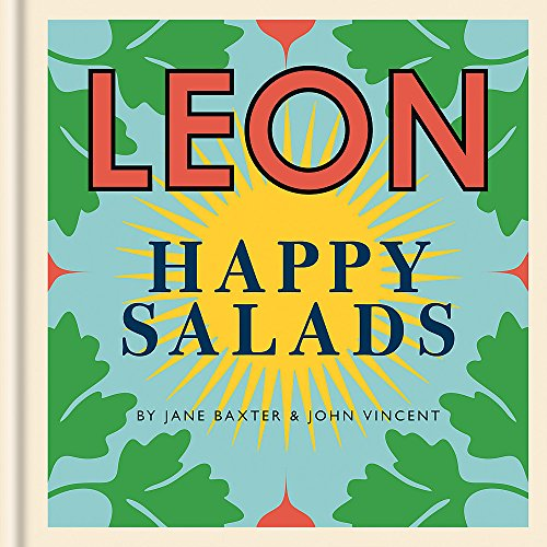 LEON Happy Salads (Happy Leons) By Jane Baxter