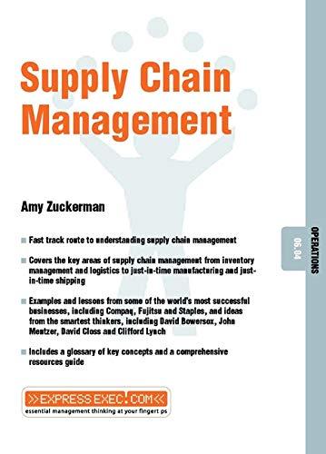 Supply Chain Management By Amy Zuckerman