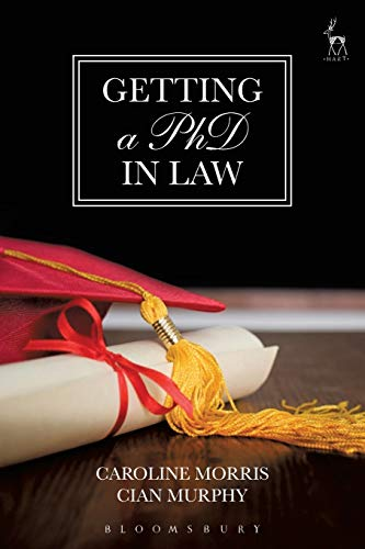 Getting a PhD in Law By Caroline Morris