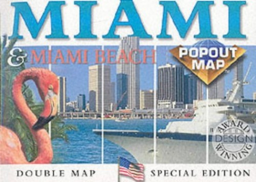 Miami and Miami Beach By Map Group