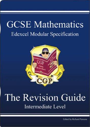 GCSE Mathematics Edexcel Modular Specification By Richard Parsons