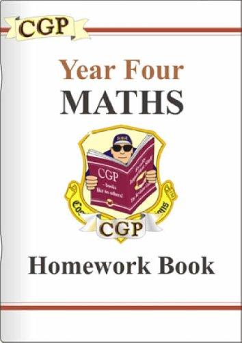 KS2 Year 4 Maths By CGP Books
