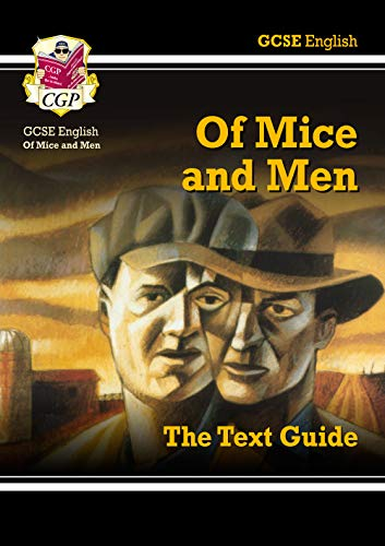 GCSE English Text Guide - Of Mice & Men By CGP Books