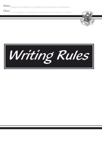 KS2 English Writing Rules By CGP Books